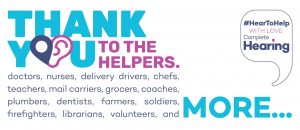 Thank You to the Helpers