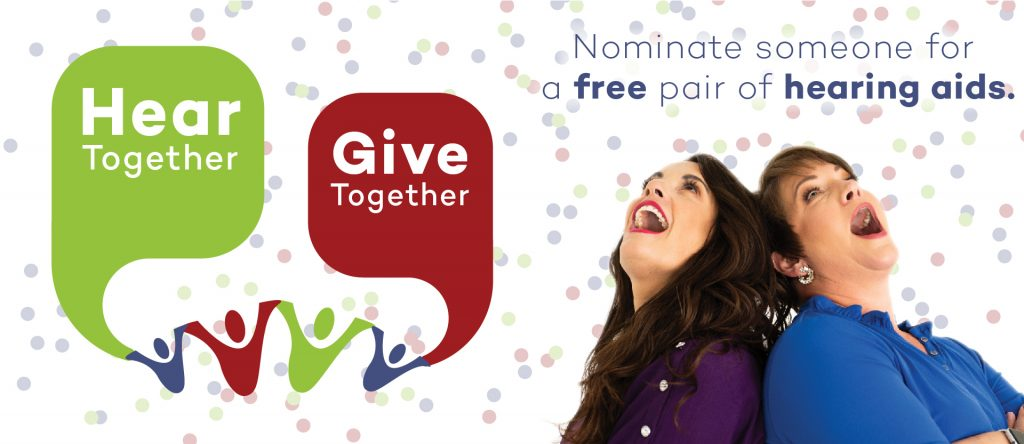 Hear Together Give Together - Nominate someone for a free pair of hearing aids